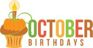 Happy birthday October birthdays