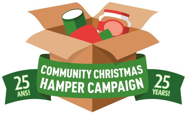 The Community Christmas Hamper Campaign celebrates 25 years!